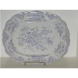 Large blue and white platter #2393694
