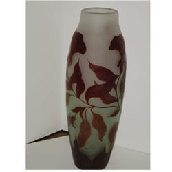 Tall Galle style vase #2393704