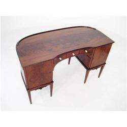 HD Antique Mahogany English Desk #2393708