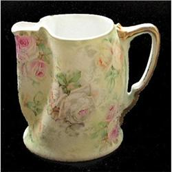 Royal Bayreuth Tapestry 3 Color Roses Pitcher #2393750