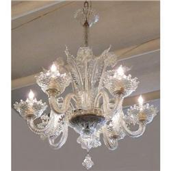 Murano Chandelier Ceiling Fixture #2393874