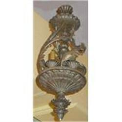 Pait of Gilt Lanterns Chandeliers #2393875