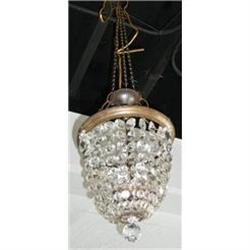 Beaded Crystal Chandelier Fixture #2393876