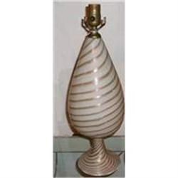 Murano Glass Table Lamp #2393890