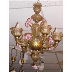 European Murano Venetian Glass Chandelier #2393891