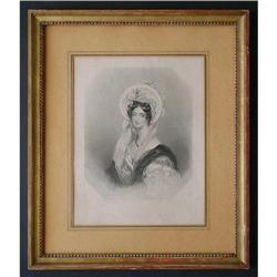 "Engraving by H. Egleton ""Countess of Falmouth"" #2393942"