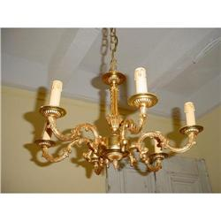 French chandelier Louis XV  style #2394025