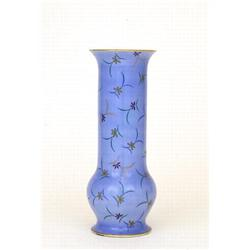 Large Japanese Koransha Fukagawa Flower Vase #2394083