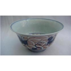 Chinese blue/white porcelain bowl #2394157