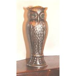 Danish Owl Silver Unengraved Seal #2394164