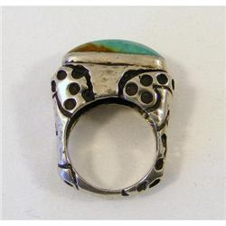 Ring Turquoise. Diane Malouf c1990 signed #2394177