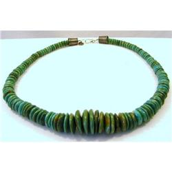 Necklace. Turquoise Double D Ranch #2394178