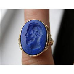 IMPERIAL RUSSIAN FABERGE RING.NICHOLAS II #2394222