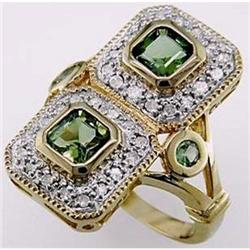 Cocktail style 2.25 ctw Green Tourmaline, #2394237