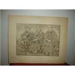 WILLY SEILLER  ETCHINGS PLATE # 47 OF 200 #2394239