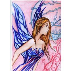 Original Fantasy Painting Fairy Watercolor #2384937