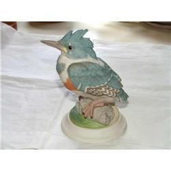 Boehm Porcelain Fledgling Kingfisher #450 Baby #2384948