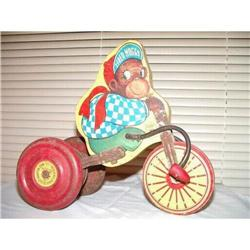 J Fred Muggs NBC Today Show Monkey on Tricycle #2384949