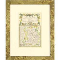 Antique Map Shropshire Britain Owen 1720 #2384958