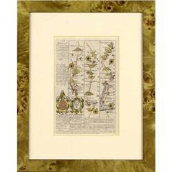Antique Map Barnstable England Ogilby 1720 #2384959
