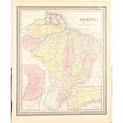 Map of Brazil by Mitchell #2384961