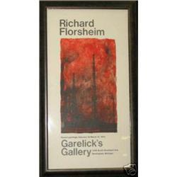 Florsheim Exhibition Poster lithograph Garelick#2384963