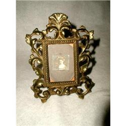 French Brass Frame Early 1900's Rococo #2384967