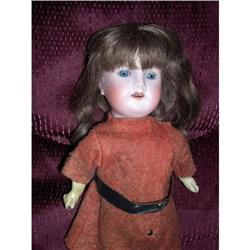 "14"" Bisque Doll Marked 3/0 Crude Body #2385050"