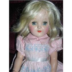 "15"" IDEAL Toni  Original Dress Blonde Doll #2385057"