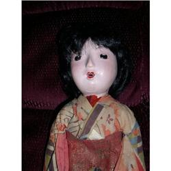 "13"" Compo Japanese Doll As Is #2385061"