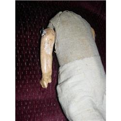 "9"" Crude Doll Body W/ Pinned Arms #2385067"
