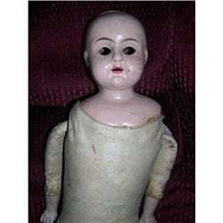 "18"" Tin Head W/ Leather Body As Is #2385070"