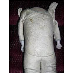 "13"" Leather GermanBody Bisque Hands #2385074"