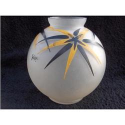 French Art Deco Vase signeed Gusti c1930 #2385438