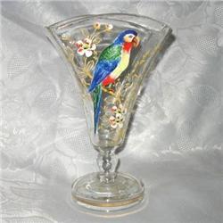 Moser type Crystal Vase #2385453