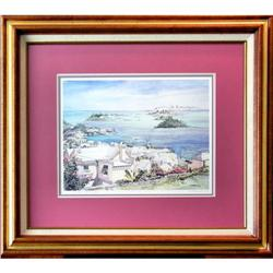 SIGNED LTD ED PRINT OF BERMUDA WATERCOLOR #2385467