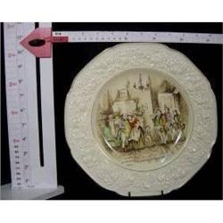 "Crown Ducal ""Mrs Bardel"" Plaque #2385559"