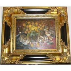 Oil Painting Of Baby Cats  #2385611