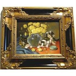 Oil Painting Of Baby Cats  #2385612