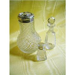 Art Nouveau Sterling Dresser bottle+2 Period #2385627