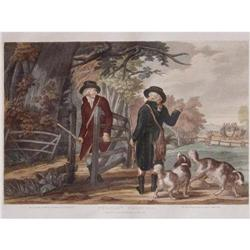 "Color Engraving ""Pheasant Shooting"" #2385653"