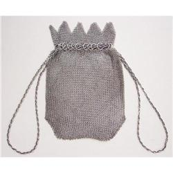 Draw-String Mesh Purse - Early 1900's #2385675