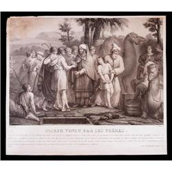 Engraving Joseph Sold by His Brothers #2385683