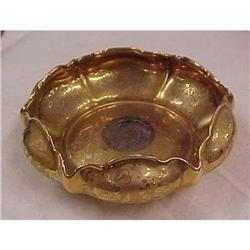 Exceptional Gold Bavarian Bowl #2385936