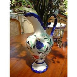 French Faience Pitcher #2385954