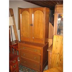 Victorian Stepback Cupboard, Hand Made #2389616