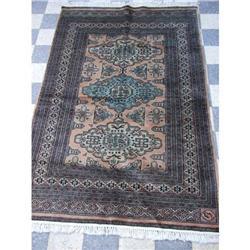 Antique Pakistani area rug carpet 6.3 x4 feet  #2389626