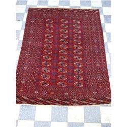 Antique Tekke Bukhara rug, area carpet 5.7x4.3 #2389627