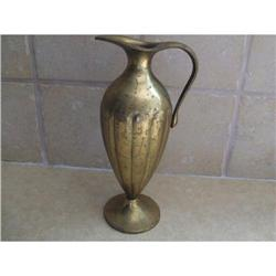 Antique Pal bell oil container brass Judaica   #2389633