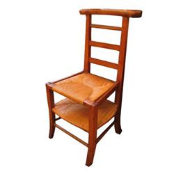 Turn of the Century French Pray Chair #2389634